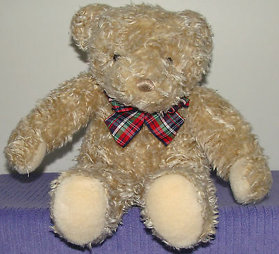 """Gund Bear Large 15"""" Tall Vhtf  Curly Haired ~ Df"""