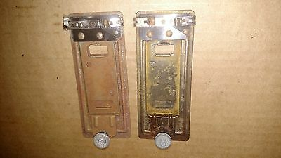 Lionel 145C AUTOMATIC ASSESSORIES CONTRACTOR x2 NOT TESTED Storage rust PARTS