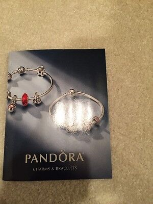Brand new authentic Winter 2016 pandora charm and bracelet book Just Released