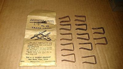 Flyer 693 TRACK LOCKS x12 BENDS Storage rust & Rough envelope AMERICAN Parts