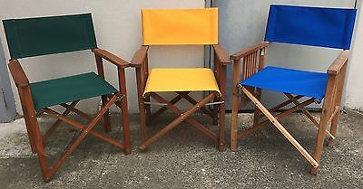 Director Chair Replacement Covers - Range Of Colours