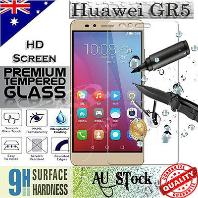 Tempered Glass / Plastic Screen Protector Film Guard For Huawei GR5 / Honor 5X