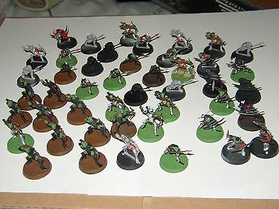 Warhammer-Lord Of The Rings-Over 40 Moria Goblins-Plastic-Painted