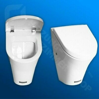 Urinal Roca Nexo m. Zaman from the rear, incl. Lid with soft-close, white
