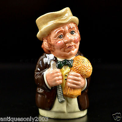 Royal Doulton Doultonville MR FURROW THE FARMER Small Character Toby Jug D6701