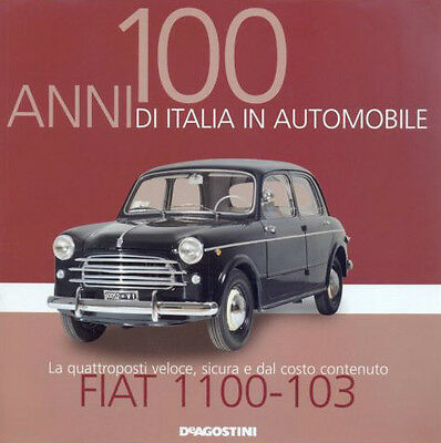 Booklet FIAT 1100-103 rare 30 PAGES