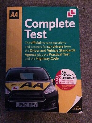 AA Complete Test Driving Official Revision Questions Practical Book 2014