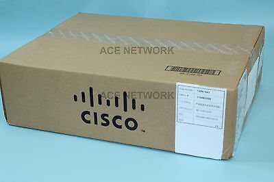 ~NEW SEALED~ CISCO WS-C3750V2-48PS-S 48 Port PoE Fast Ethernet Switch ~FAST~