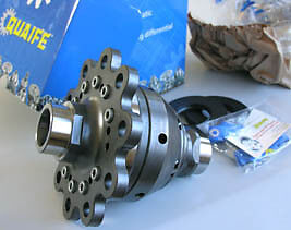 Quaife Mercedes 215 CL55 AMG for final drive 220-350-40-14 LSD Limited Slip Diff