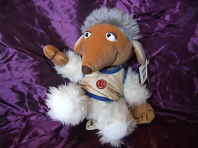 "10"" Womble Soft Toy the wombles By animal playmakers with tag"