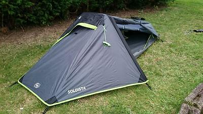 Higear Soloista one man person single berth tent Lightweight Hiking Backpacking