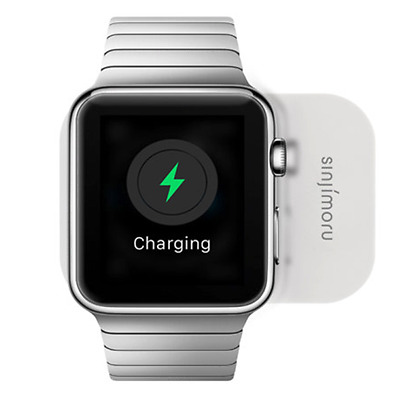 Sinjimoru Clingy Apple Watch Wireless Charger Stand Cradle Minimalism Authentic