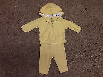 Infant Baby Gap Yellow Outfit Pants Jacket 3-6 Months