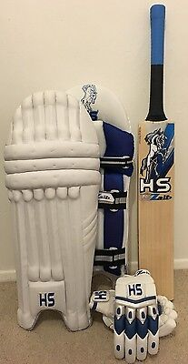 HS Zaib Cricket Bat Pads And Gloves PACKAGE DEAL RRP £250 NOW £150 SAVE REDUCED