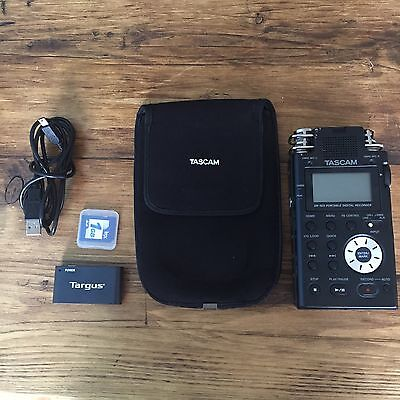 Tascam DR-100 Used With 1gb Card & Reader & Case