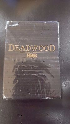 HBO's DEADWOOD TV SERIES PROMO DECK of PLAYING / POKER CARDS (2005 NEW & SEALED)