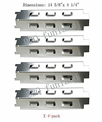 Charbroil Gas Grill Part Stainless Steel Heat Plate Replacement SH8531 4pk Add