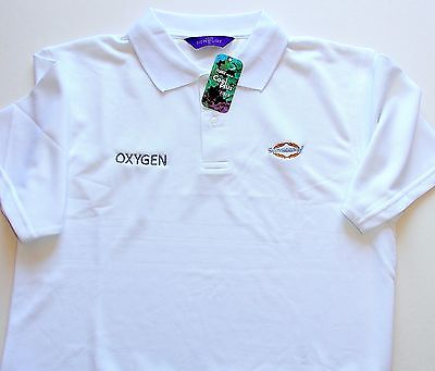 "Genuine Sunseeker "" Oxygen "" Polo Shirt White With Cool Plus Fibre Small Or Med"