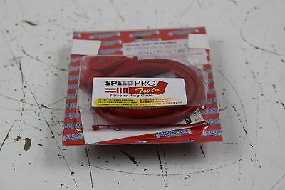 Speed Pro Twin Silicone Plug Cord (T-1) Red 135 Degrees..pn: 805135-04(Red)