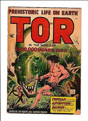 Tor #4  [1954 Gd-]  Awesome Dinosaur Cover!