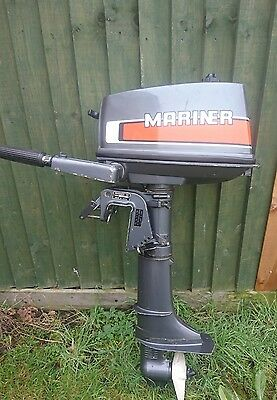mercury mariner 4hp outboard short shaft
