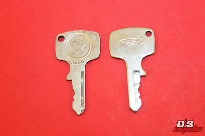 Vintage Honda Motorcycle Parts >> Vintage Honda Oem Factory Pre Cut Motorcycle Key H2201 Motorcycle