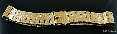 Antique / Vintage 14ct Solid Yellow Gold Flexible Bracelet by S&P