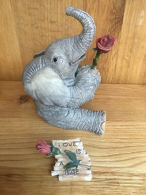 "Tuskers Elephants ""Love Is A Rose"" Country Artists 91172"