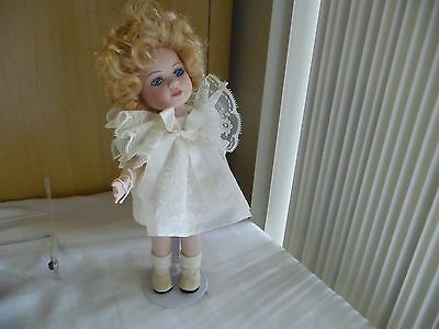 #816 bisque doll 11'' tall all bisque jointed  SWWEETIE PIES  Hillary blound