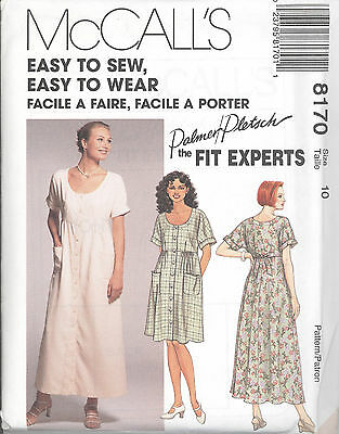 McCall/'s 7608 Misses/' Dress in Two Lengths  Sewing Pattern