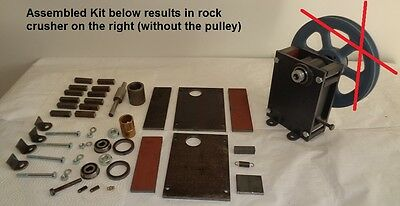 Small Rock Crusher KIT 1″ x 2″ NO MOTOR/STAND/NO FEED HOPPER