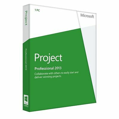 Microsoft Project Professional 2013 Software Full Retail SALE!!!