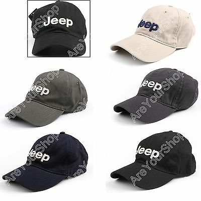 Unisex Hat Men Cap Sport Baseball Casual Outdoor Sun Adjustable For Jeep #E