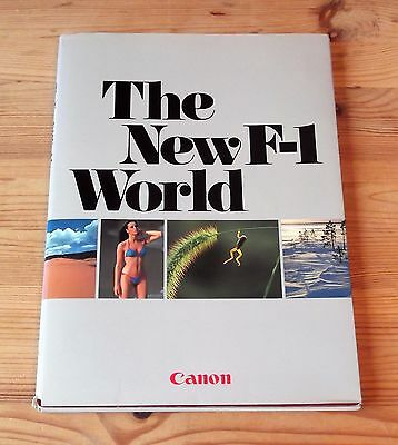 The New F-1 World Canon Camera Professional Guide 1982 Features and Functions