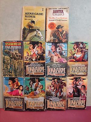 Lot  10  Western's Paperback see photo and list. (B15)