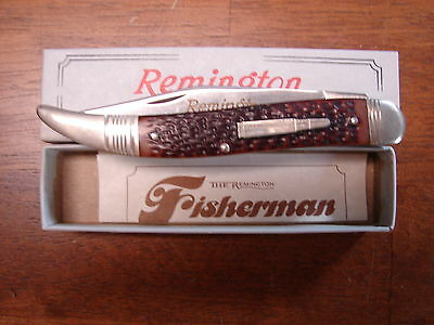 Vintage 1987 Remington Fisherman Bullet Knife R1613 New in Box Made in USA
