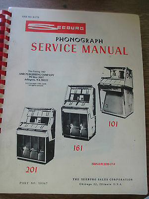 Seeburg Service Manual For The Models 201, 161 & 101 Jukeboxes