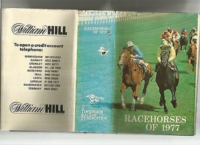 Racehorses of 1977 A Timeform Racing Publication
