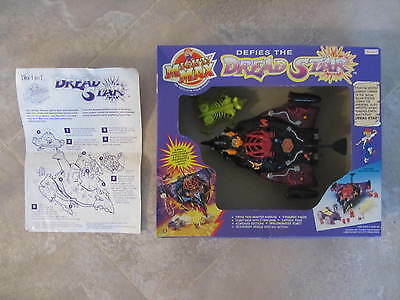 MIGHTY MAX ''Dread Star''  boxed  vintage 1990's