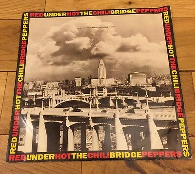 12 Inch LP Red Hot Chili Peppers Under the Bridge Great Condition