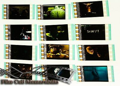 Saw 3 - 12pack - 35mm Film Cell Lot movie memorabilia Aus Seller