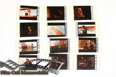 Indiana Jones and the Last Crusa -12pack - 35mm Film Cell Lot movie memorabilia