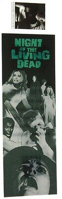Film Cell Bookmark 35mm -  Night of the Living Dead Movie Memorabilia Gift