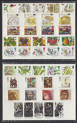 1993 Complete Year (9 sets excl. greetings/£10) commemoratives mint MNH (sealed)