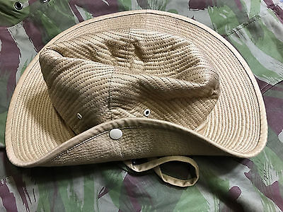 French Army Canvas Bush Hat Size 71/4  (58)