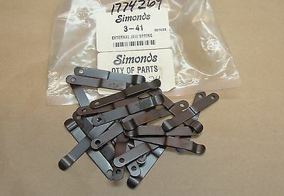 24 Lot NEW Simonds 3-41 External Jaw Springs 341