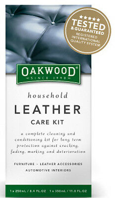 LEATHER CLEANER  3 piece Leather Care Kit ( Complete Cleaning & Conditioning)