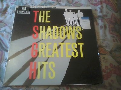 The Shadows Greatest Hits 1963 Columbia Vinyl Lp Stereo Pressing