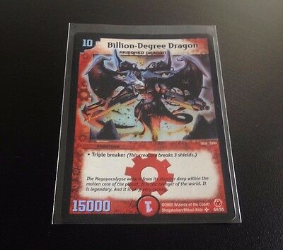 CARD DUEL MASTERS BILLION-DEGREE DRAGON S4S5 OLOGRAFICA Wizards of the Coast 05