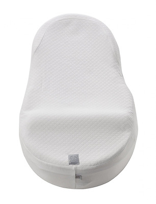 Red Castle Towelling Fitted Sheet for Cocoonababy Cocoon (White)